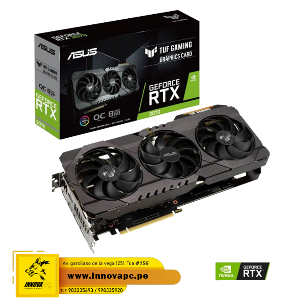 VIDEO ASUS TUF GEFORCE RTX...