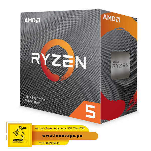 CPU AMD RYZEN 5 3600 3.6GHZ...