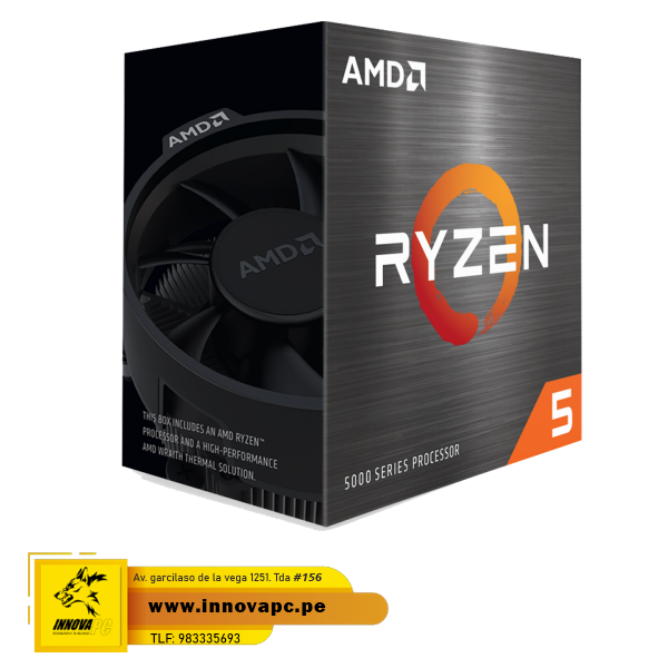 CPU AMD RYZEN 5 5600X 6...