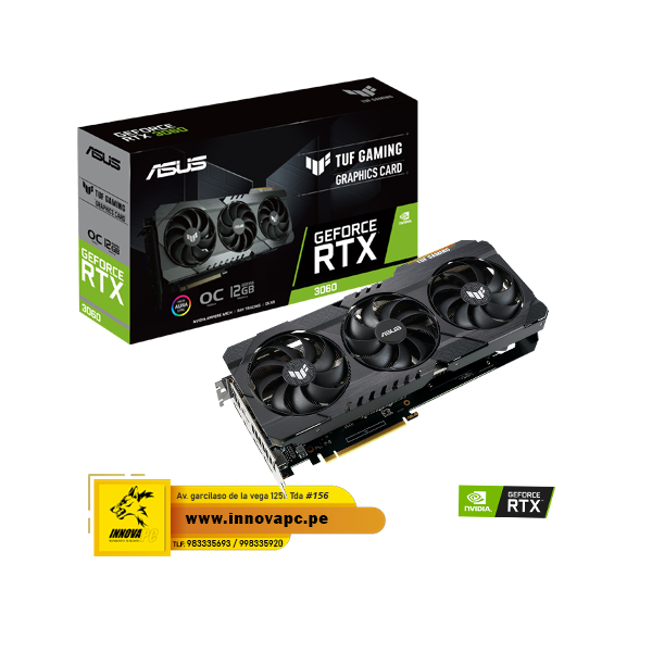 VIDEO ASUS TUF GEOFORCE RTX...