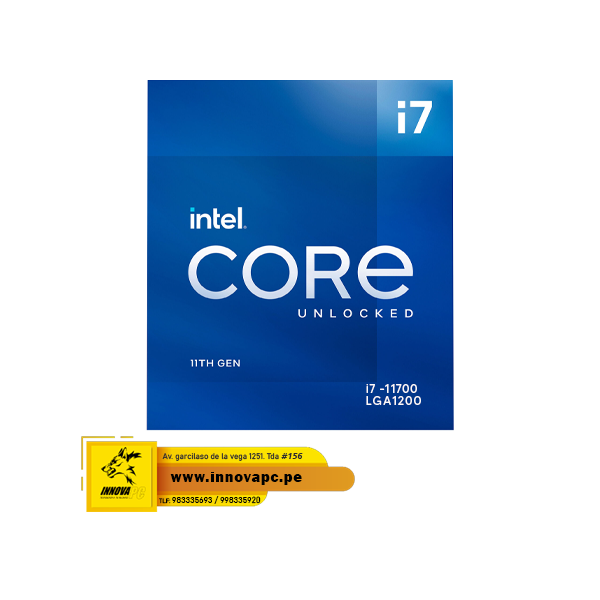CPU INTEL I7-11700 11TH...